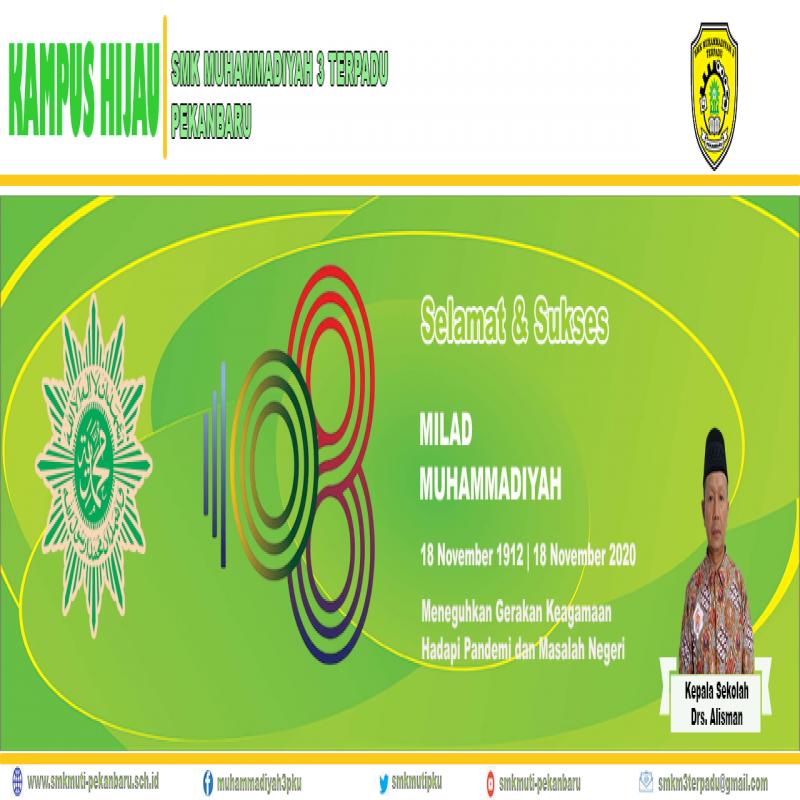 MILAD MUHAMMADIYAH KE 108